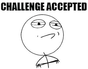 accept challenge meme