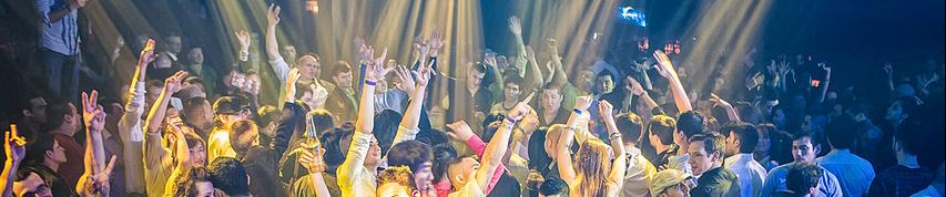 packed nightclub