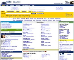 altavista search engine