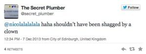 secret plumber tweets