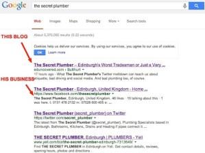 the secret plumber