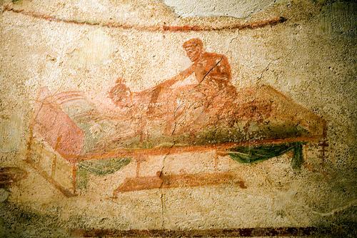 The Lupanar of Pompeii