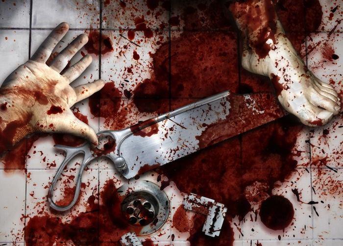 serial killer murder scene