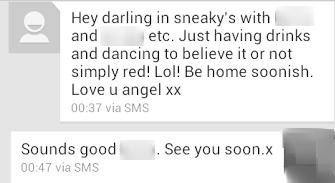 drunk text one