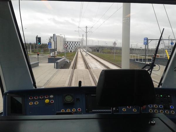 edinburgh tramline
