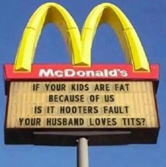 blame mcdonalds