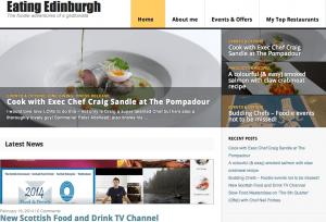 Edinburgh's restaurant review blogs