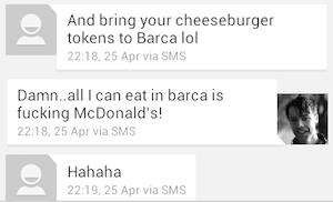 barcelona mcdonalds