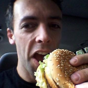 big mac selfie