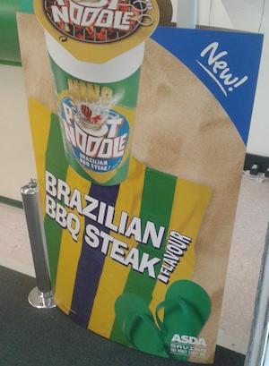 brazil pot noodle