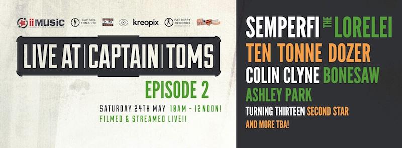 captain toms live 2