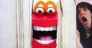 happy mascot mcdonalds