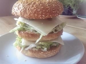 Homemade Big Mac: full recipe dropping next week in a guest blog