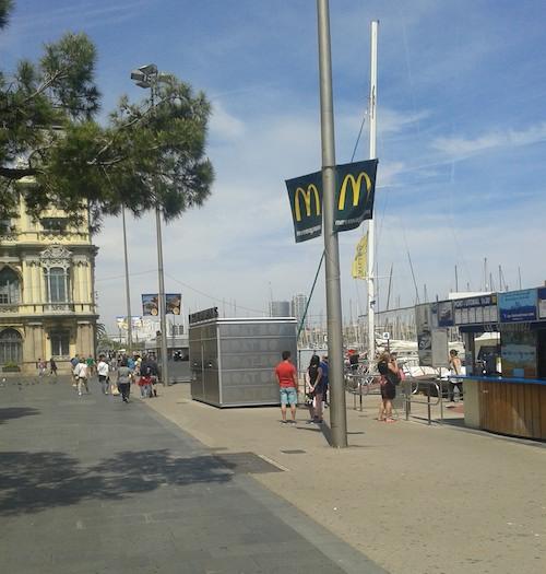 mcdonaldsa barcelona