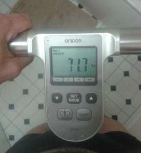 week one weight