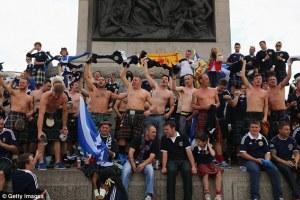 Scottish sport spectators