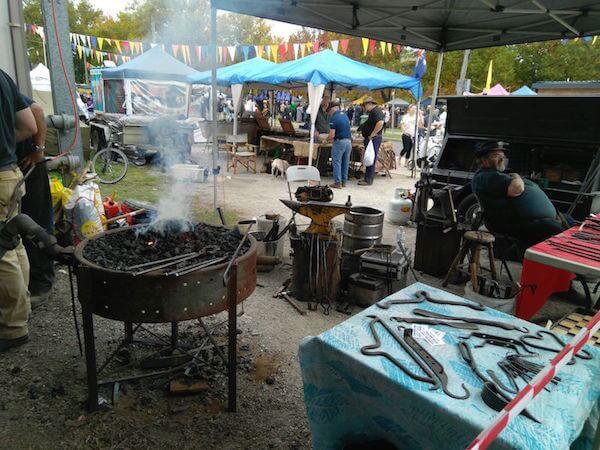 blacksmiths ironfest