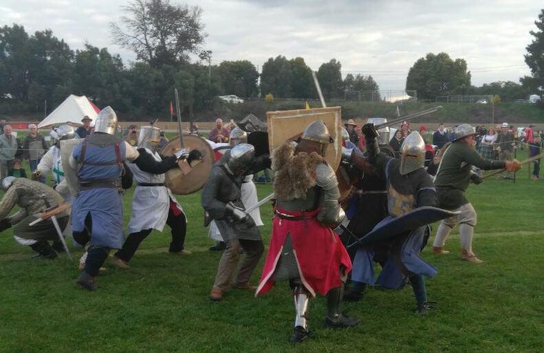 ironfest medieval reenactment