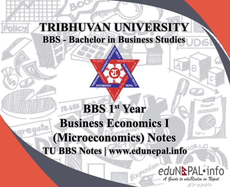 BBS 1st Year Business Economics I notes