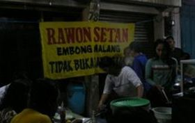 [resto] Rawon Setan (Karawaci)