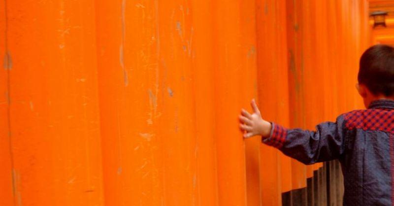 The orange of Funishi Inari Shrine