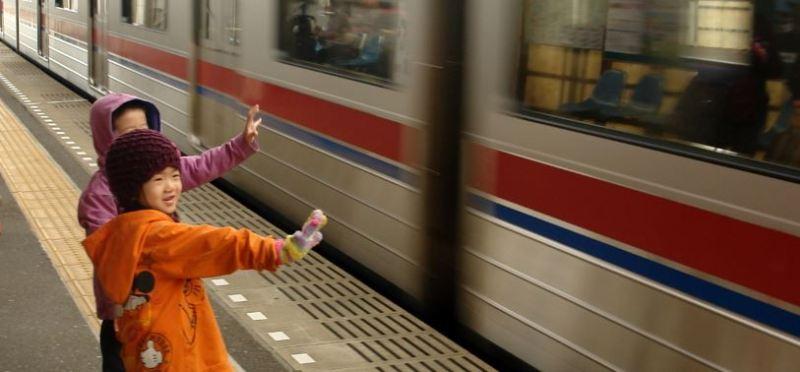 Kereta adalah bagian kehidupan di Jepang..