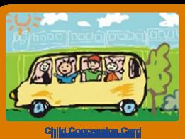 Kartu EZ-Link Singapore untuk Anak (Child Concession Card)