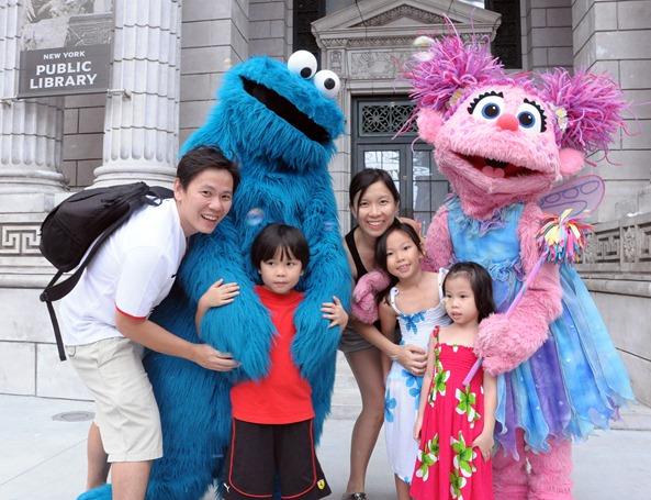 family sesame street