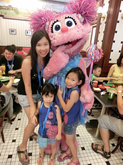 sesame family photo