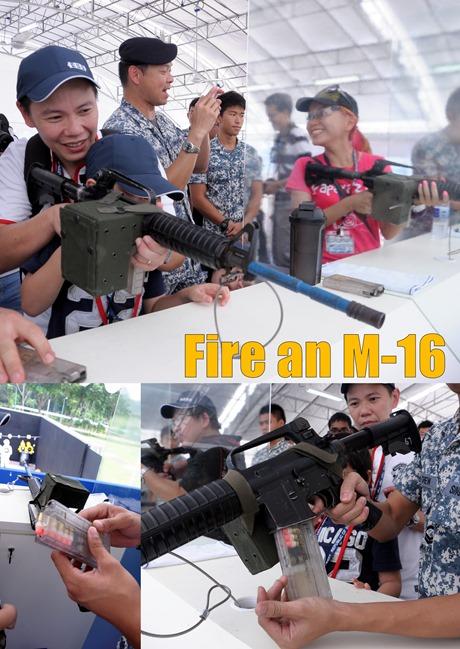 fire m16