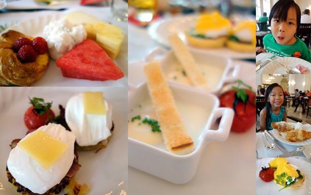 Raffles breakfast