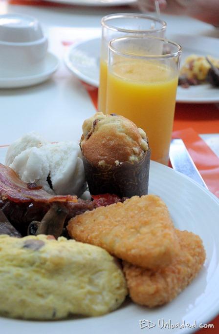 breakfast at shang