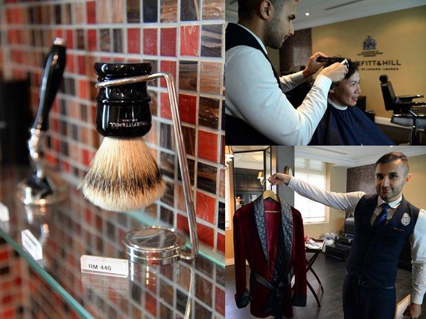 distinguished men's barber