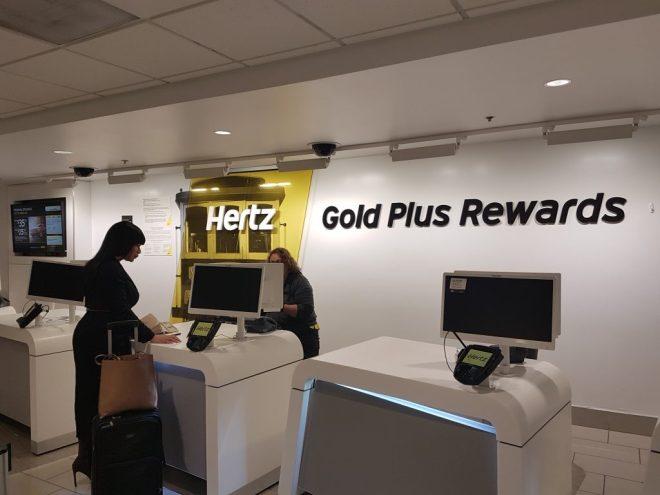 Hertz gold plus