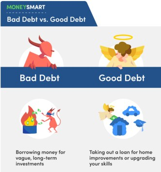 bad debt vs good debt