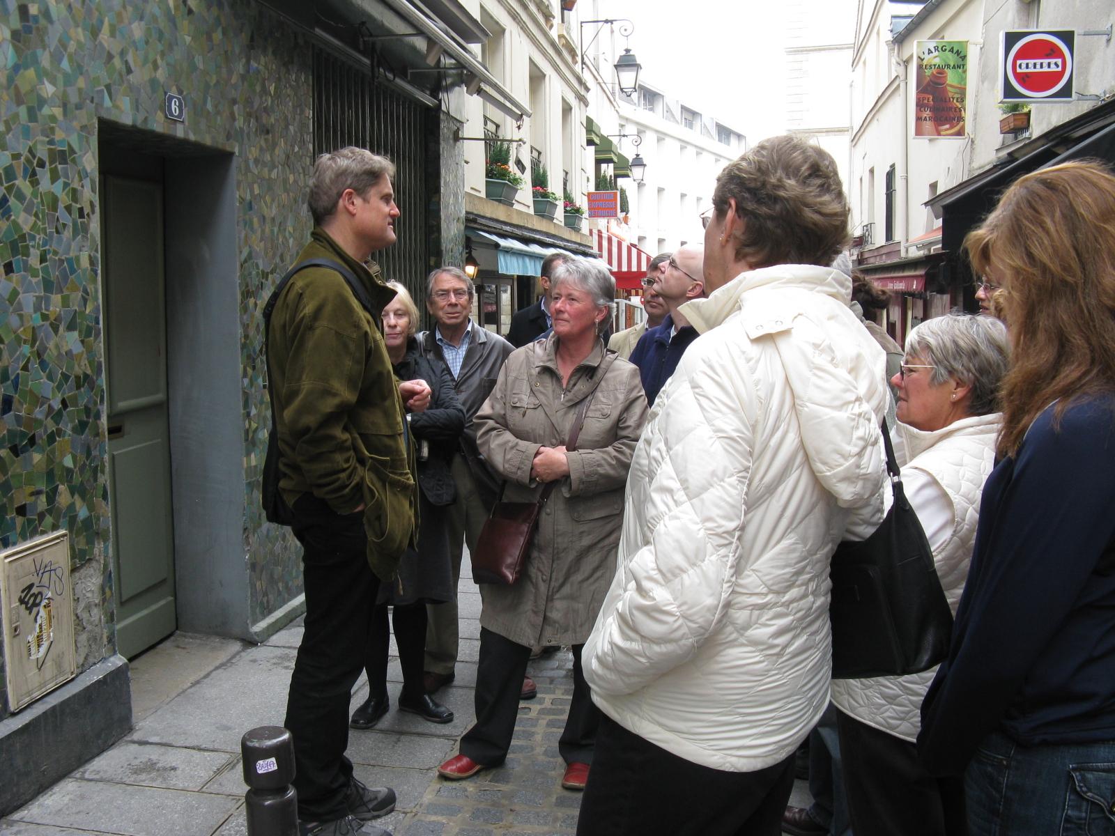 Walking tour of Hemingway's Paris