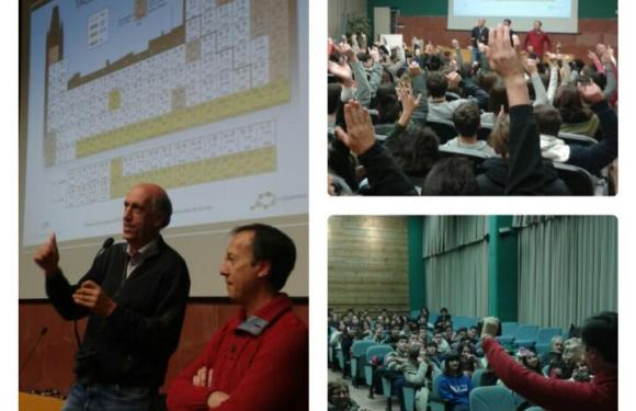 Segona sessió d'Els Matins de la Química i màgia amb la Taula Periòdica… i una sorpresa