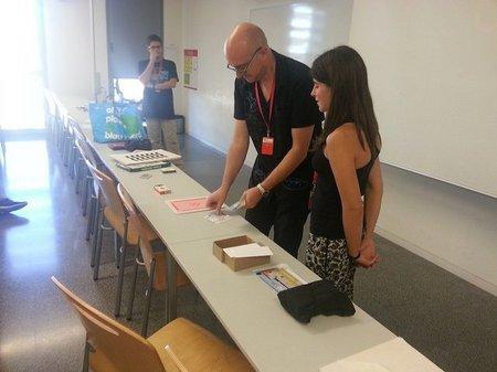 Un microdiàleg i un taller, participació al Campus Gutemberg