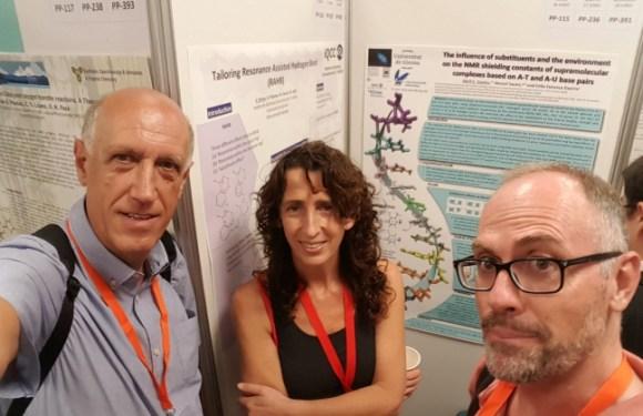 Pòster al congrès de la RSEQ, a Sitges