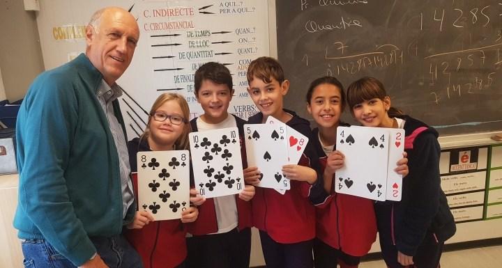 Matemàgia de la Ciència a l'Escola d'El Far d'Empordà