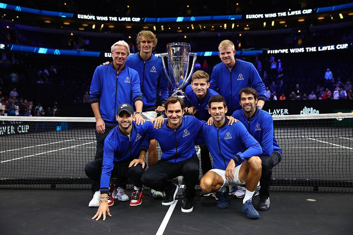 Show de tênis na Laver Cup
