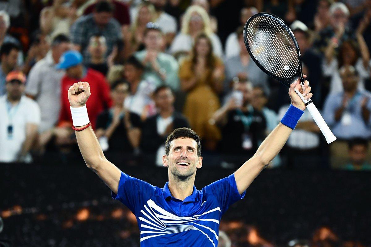Djokovic avassalador no Australian Open 2019