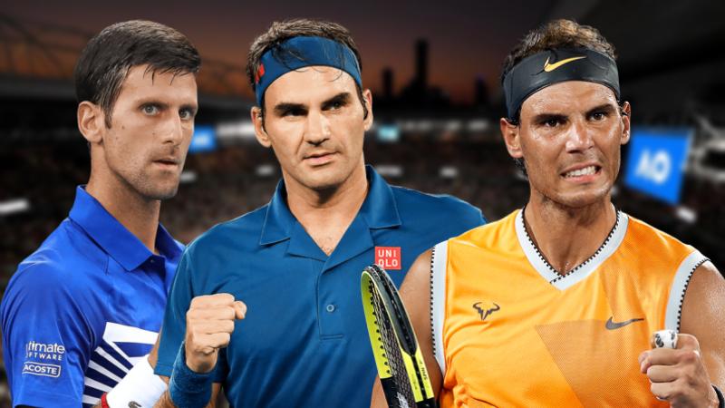O tênis em números: Veja os principais recordes e marcas de Federer, Djokovic e Nadal