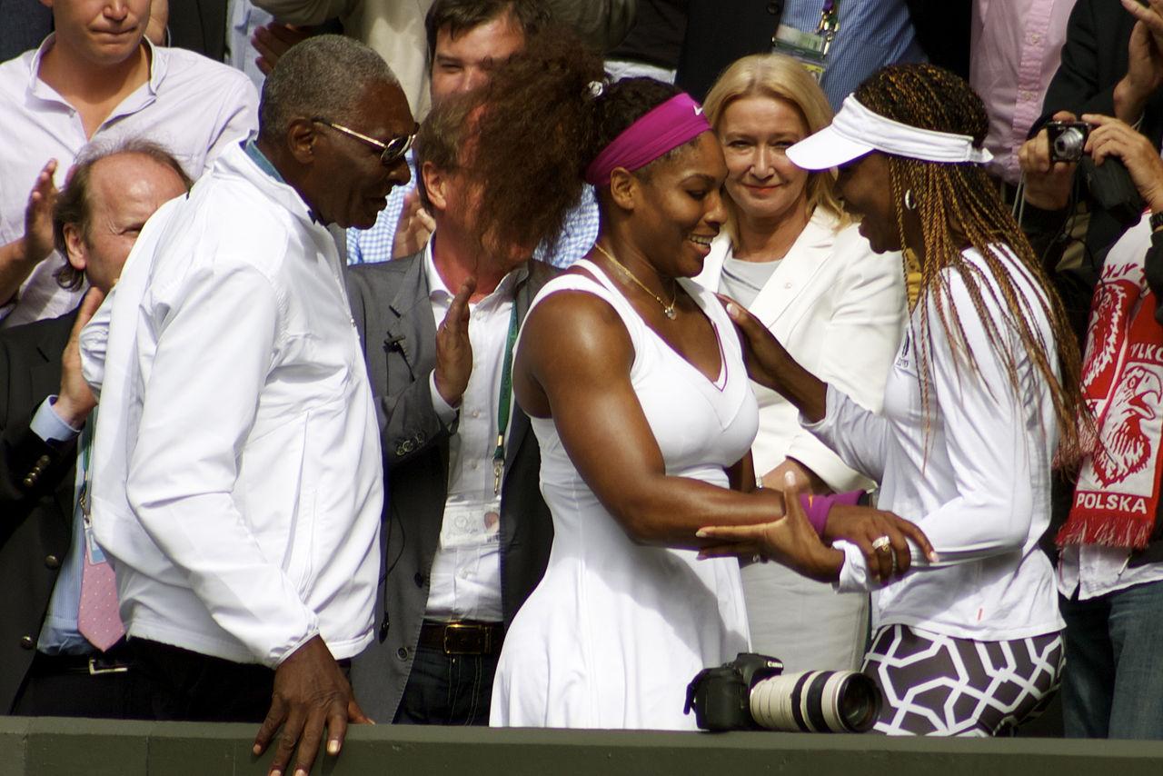 Os pais de tenistas