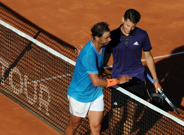 Dominic Thiem 2019 ATP de Barcelona Rafael Nadal