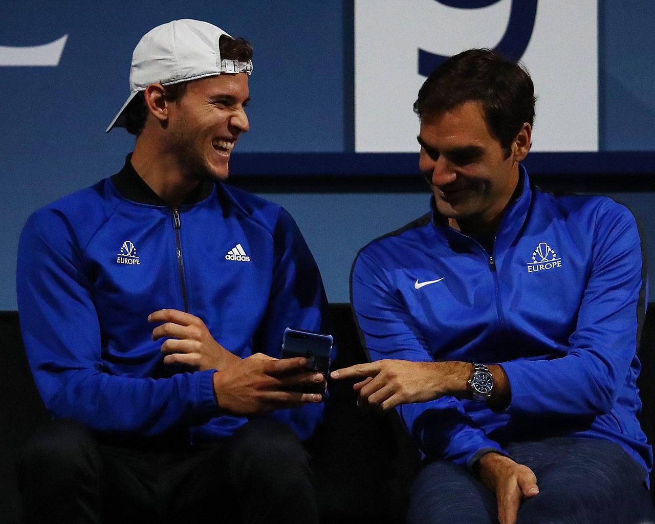 Mestre Federer e a ATP University Class 2019