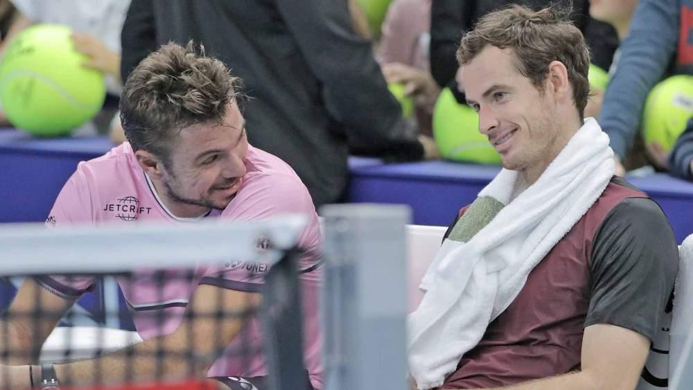 Andy Murray e Stan Wawrinka