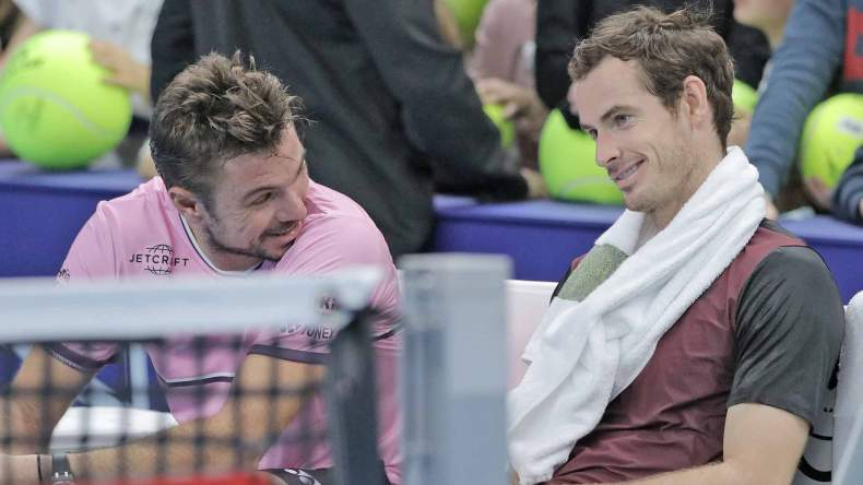 Andy Murray e Stan Wawrinka