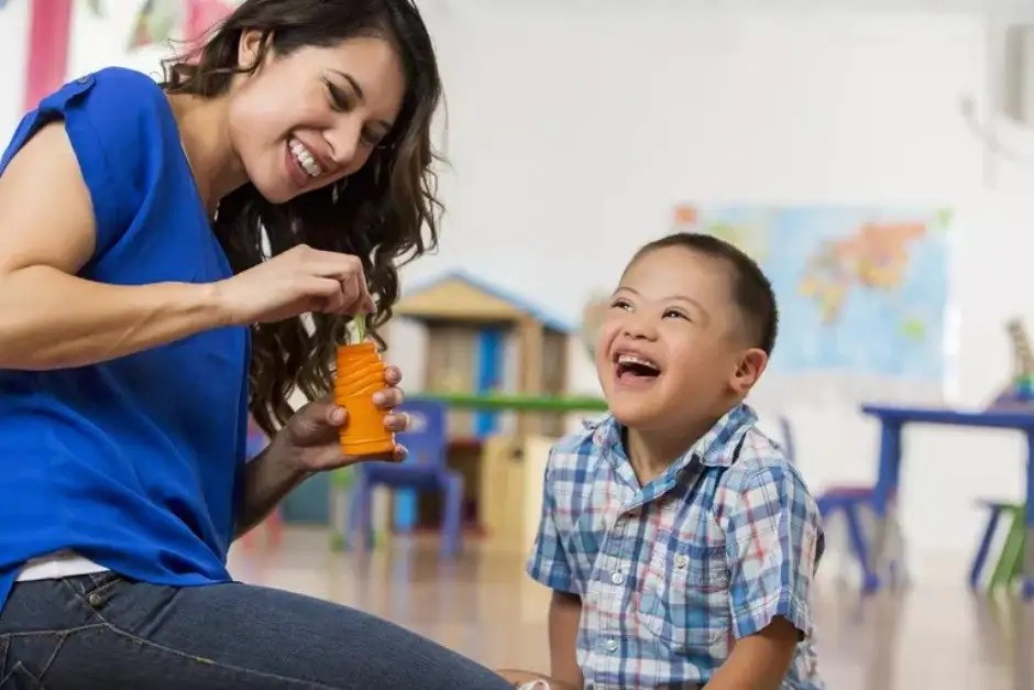 Teaching a Down syndrome child