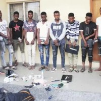 12 suspected internet fraudsters arrested in Yahoo Yahoo School